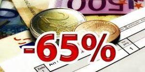 detrazioni fiscali 65%