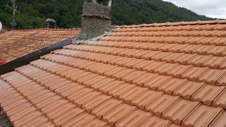 Tetto in legno ventilato a Porlezza (CO)