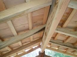 Strutture tetto in legno