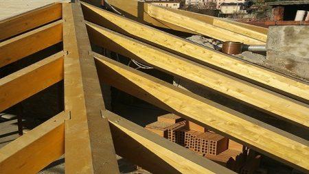 Tetto in legno dettagli
