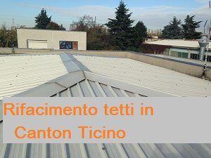 Rifacimento tetti in Canton Ticino