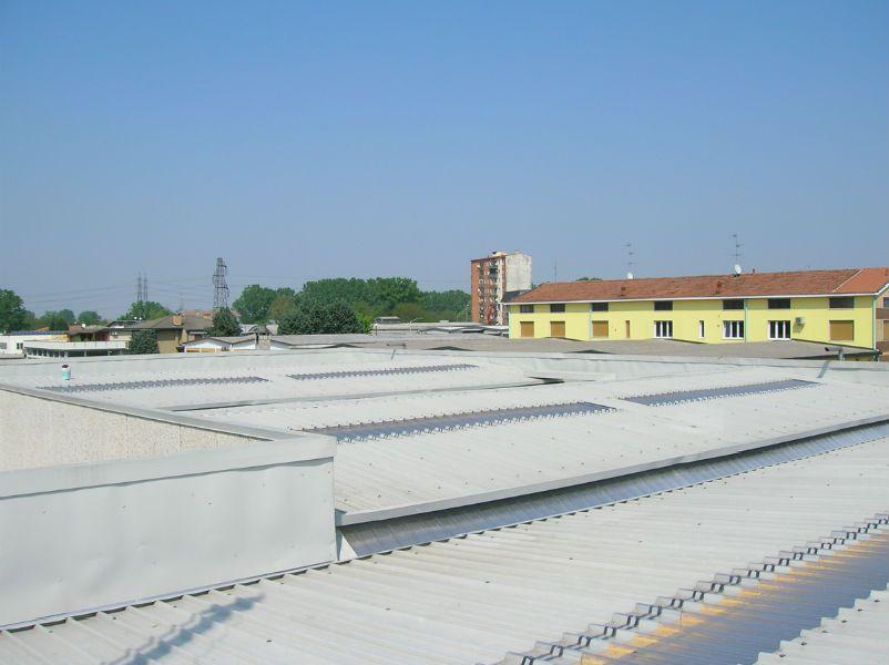 Rifacimento copertura industriale Vizzolo Predabissi (MI)