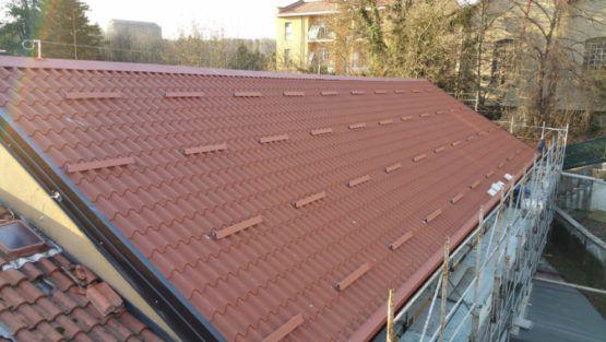 Rifacimento tetto Agliate (MB)