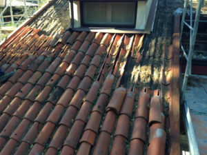 Manutenzione di coperture metalliche e altri tipi di tetti