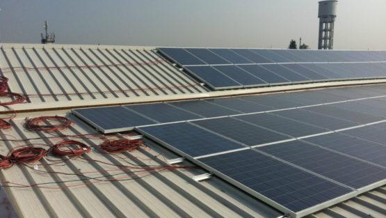 Rifacimento copertura industriale e impianto fotovoltaico