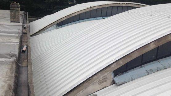 Rifacimento tetto con pannello curvo a Malnate (VA)