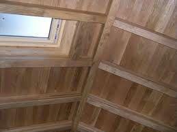 tetto in legno a vista