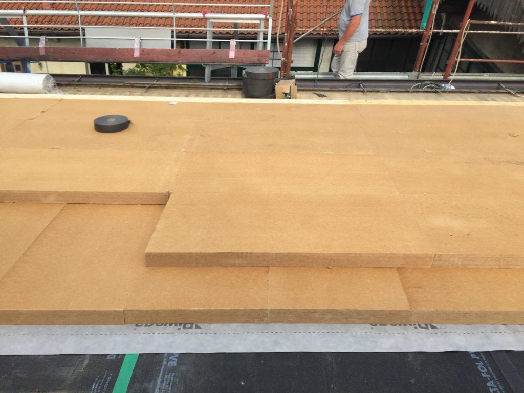 Tetto in legno isolato e ventilato a Seregno (MB)