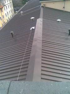 Posa linea vita tetto Milano