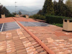Impianto fotovoltaico Casnate con bernate (CO)