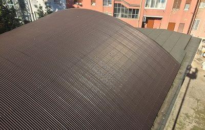 Rifacimento tetto curvo Milano (MI)