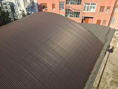 Rifacimento copertura industriale Milano