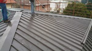 tetto a padiglione in legno
