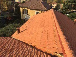 tetto a padiglione pendenza